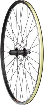 Quality Wheels WTB Dual Duty i19 TCS Rear Wheel - 700, QR x 135mm, Rim Brake, HG 10, Black, Clincher