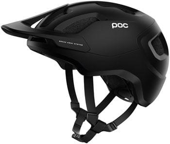 POC Axion SPIN Helmet - Matte Uranium Black/Basalt Blue, Medium/Large