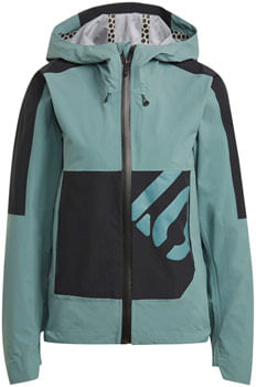 Five Ten All Mountain RAIN.RDY Jacket - Hazy Emerald, Women's, Large