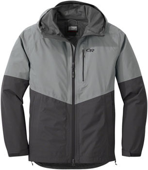 Outdoor Research Foray Jacket - Light Pewter/Storm, Men's, Medium