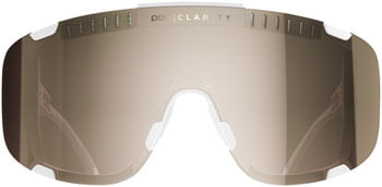 POC Devour Sunglasses - Hydrogen White/Brown, Silver Mirror Lens
