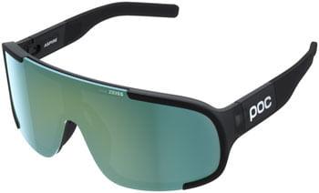 POC Aspire Clarity Sunglasses - Uranium Black Translucent, Grey Lens