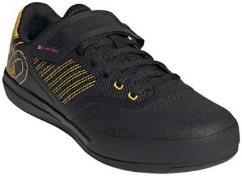 Five Ten Hellcat Pro Clipless Shoe  -  Men's, Core Black/Hazy Yellow/FTWR White, 12
