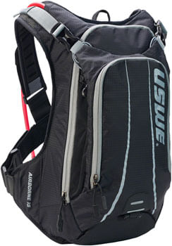 USWE Airborne 15 Hydration Pack - Black/Gray
