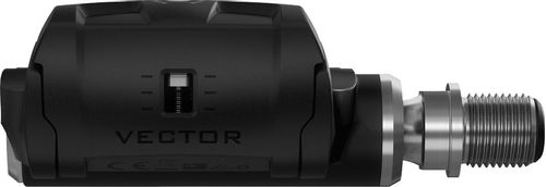 "Garmin Vector 3 Pedals - Single Sided Clipless, Composite, 9/16"", Black, Pair, Left Sensor"