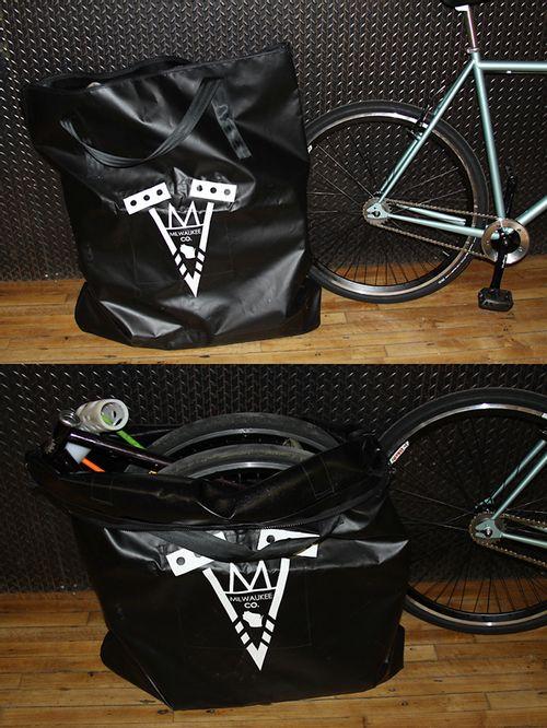 Milwaukee Bicycle Co. Polo Travel Bag