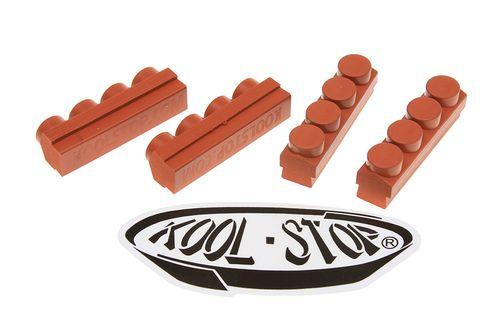KoolStop Mafac Brake Replacement Pads - Salmon