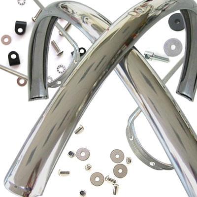 Gilles Berthoud Stainless Steel Fender Set