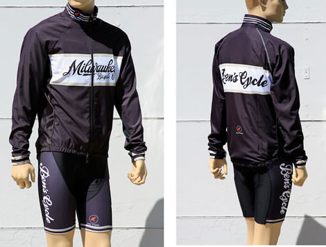 Milwaukee Bicycle/Bens Cycle Pactimo Uni-Sex Lightweight Jacket