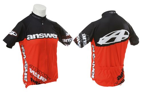 Answer XC Jersey Short Sleeve - Red/White