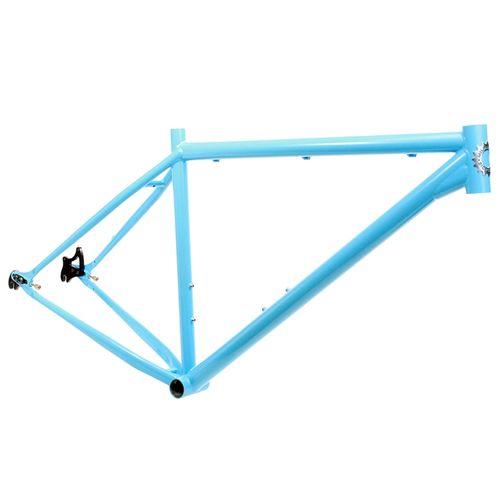 Milwaukee Bicycle Co. Grit 29er Frame - 19'' - Light Blue - Blem