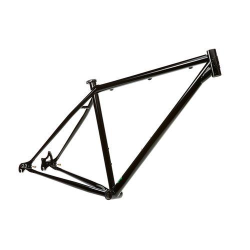 Milwaukee Bicycle Co. Grit 29er Frame - 19'' - Satin Black - Blem