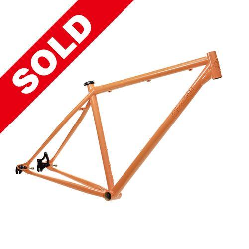 Milwaukee Bicycle Co. Grit 29er Frame - 19'' - Orange Dream - Blem