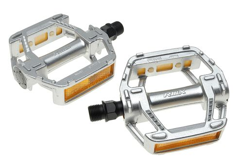 MKS RMX Touring Pedals - Silver