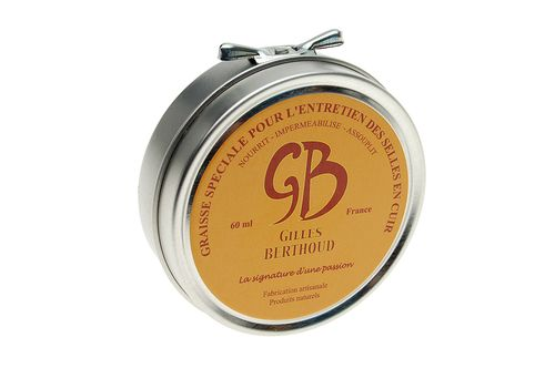 Gilles Berthoud Leather Saddle Wax - 60ml / 2ozs