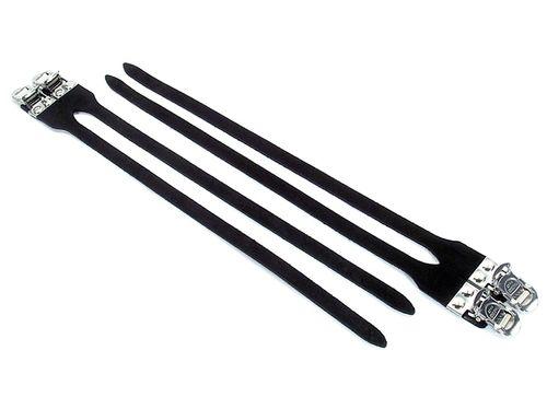 MKS Fit-Alpha NJS Sport Double Toe Straps - Black