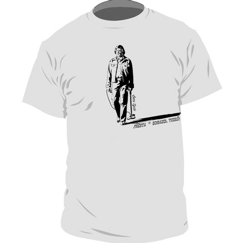 Ben's Cycle T-Shirt - No Country for Flat Tires