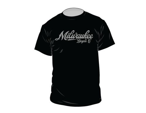 Milwaukee Bicycle Co. Script T-Shirt