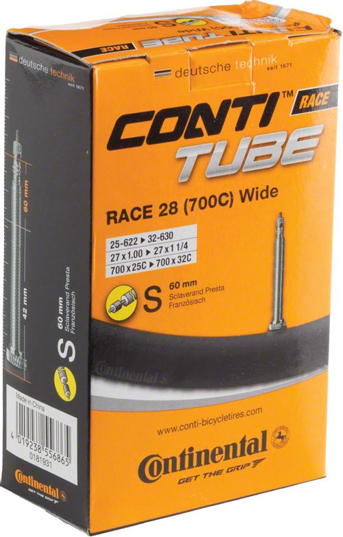 Continental 700 x 25-32mm 60mm Presta Valve Tube
