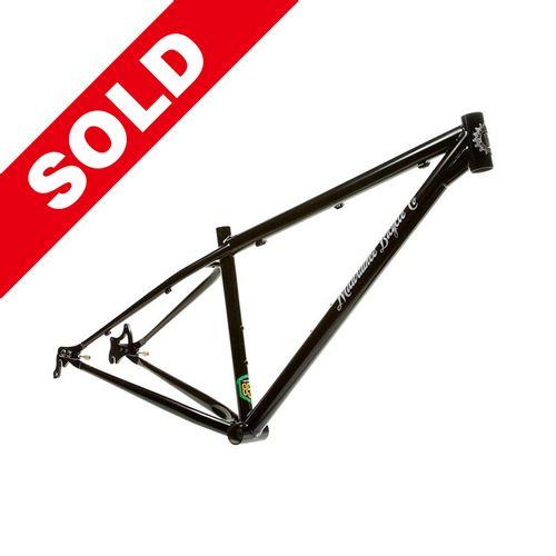 "Milwaukee Bicycle Co. Grit 29er Frame - 15"" - Gloss Black - Blem"
