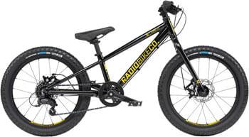"Radio Zuma Bike - 20"", Aluminum, Black"