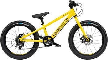 """Radio Zuma Bike - 20"""", Aluminum, Yellow"""