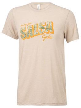 Salsa Greetings T-Shirt - Men's, Natural, X-Large