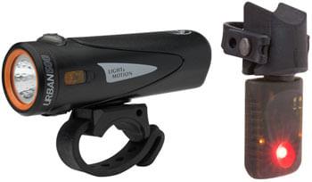 Light and Motion VIS 500 Onyx + Vya TL Combo Light Set