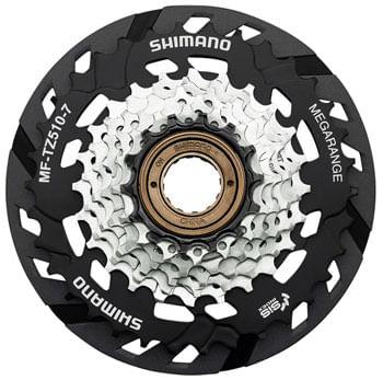 Shimano MF-TZ510-7-CP Multi-Speed Freewheel - 7-Speed, 14-34t