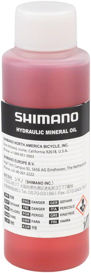 Shimano Mineral Oil Disc Brake Fluid, 100ml