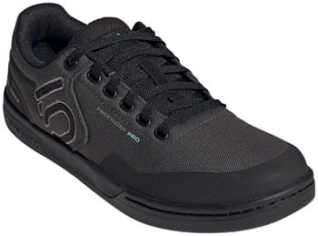 Five Ten Freerider Pro Primeblue Flat Shoe  -  Men's, DGH Solid Grey/Grey Three/Acid Mint, 8