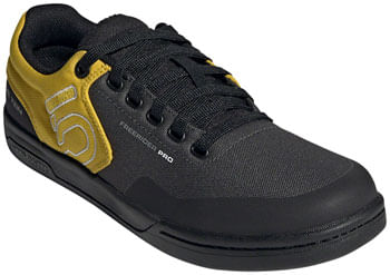 Five Ten Freerider Pro Primeblue Flat Shoe  -  Men's, DGH Solid Grey/Grey Five/Hazy Yellow, 9.5