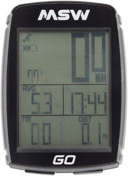 MSW Miniac GO GPS Bike Computer - GPS, Wireless
