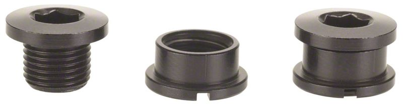 Problem-Solvers-Single-Chainring-Bolts-Black-Alloy-CR0011-5