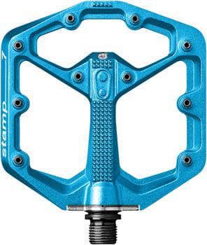 "Crank Brothers Stamp 7 Pedals - Platform, Aluminum, 9/16"", Electric Blue, Small"