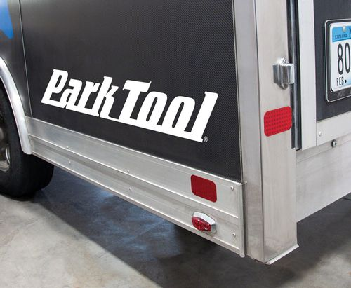 Park Tool DL-36W Horizontal Logo Decal, White