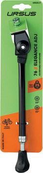 """Ursus Elegance Adjustable Kickstand - Medium 24""""/26""""/28"""", Black"""