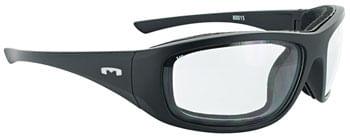 Mountain Shades Roadhenge Safety Glasses - Matte Black, Clear Lens