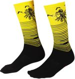 Fist-Handwear-Miami--Phase-2-Crew-Sock---Black-Yellow-Small-Medium-SK0024