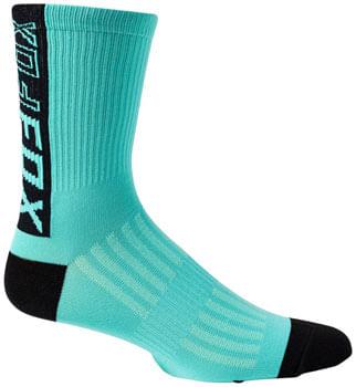 "Fox Racing Ranger Sock - Teal, 6"", Small/Medium"