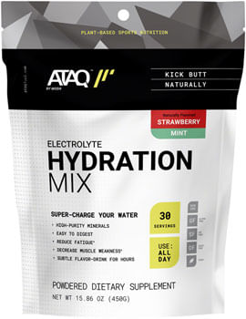 ATAQ by MODe Hydration Mix - Strawberry Mint, 30 Serving Resealable Pouch