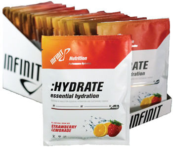 Infinit Nutrition Hydrate Drink Mix: Strawberry Lemonade, 20 Single Serving Packets