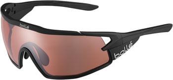 Bolle B-ROCK PRO Sunglasses - Matte Black, Phantom Vermillon Gun Photochromic Lenses