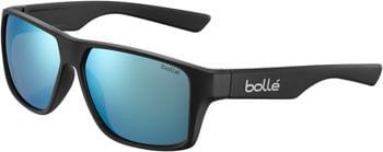 Bolle BRECKEN Sunglasses - Matte Black, TNS Ice Lenses
