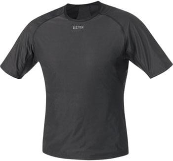 GORE® M WINDSTOPPER Base Layer Shirt - Black, Men's, Medium