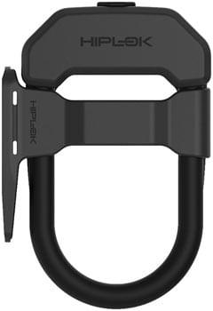 "Hiplok DXF Wearable U-Lock With Frame Clip - 3.34 x 5.9"", Keyed, Black"