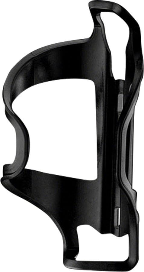 Lezyne Flow Bottle Cage Side Loader Left-hand: Black