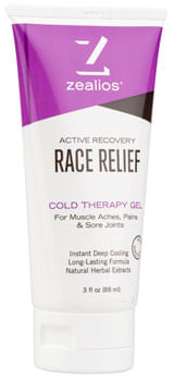 Zealios Race Relief Cold Therapy Gel - 3oz Tube