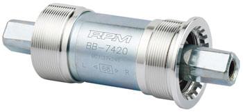 FSA (Full Speed Ahead) Italian JIS Bottom Bracket - Italian, 70x113mm, Silver