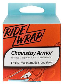 RideWrap Chainstay Armor - Matte Black